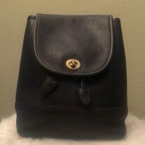 Coach Vintage Mini Drawstring Rucksack Backpack